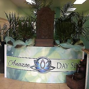 Anazoe Day Spa Services Gift Certificate Valued at $40 Save $10
