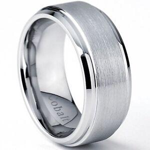 Men's Cobalt Wedding ring size 9