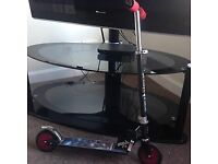 Power Rangers folding two wheeled scooter - GC - pick up only Prestwick - £10