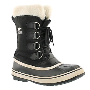 SOREL 8 Women's Carnival Black Winter Boots Sorels
