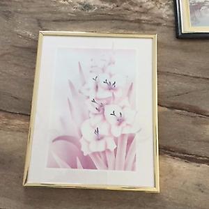 """Image - art mural - tableau - vitré, """"Fleurs"""", comme neuf"""
