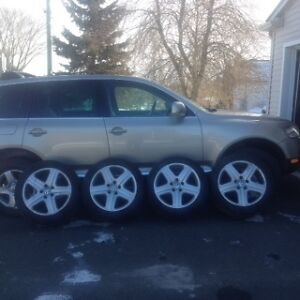 Excellent Tires and Rims for Touareg