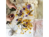 Eco Printed Fabric Workshop