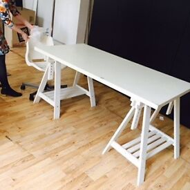 White table legs