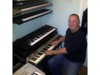 Keyboard player looking for band, Leighton Buzzard