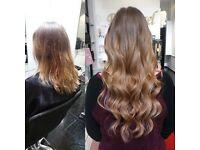 Weaving Hair Extensions-Brazilian Knots-Micro Weft Hair - Micro Tip Hair - Nano Tip Hair Extensions