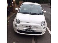Fiat 500 White