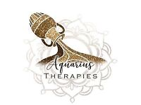 Aquarius Therapies. Complimentary therapies. 20% off your first treatment