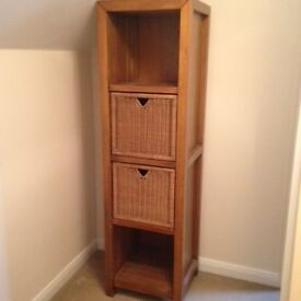 beautiful wooden shelf unit (165cm x 50cm x 45 cm) - I have 2 of these for sale