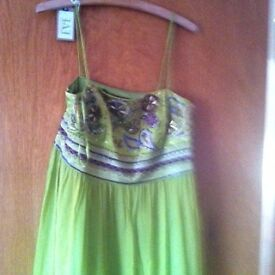 Evening dresses and other items