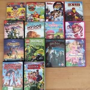KIDS DVD BULK LOT Iron man, Lego, Mickey mouse $26 Ridgewood Wanneroo Area Preview
