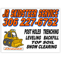 Snow Removal/Clearing (Bobcat)