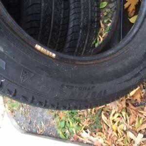 175-65R14 pneus hiver +ete  +rim