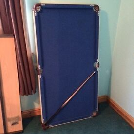 For sale folding pool table