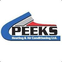 FURNACE / AIR CONDITIONING / FIREPLACE / GARAGE HEATER