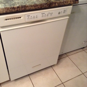 White/Clean Dishwasher-6 years old