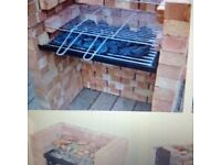 Out door barbecue set for built in barby. Penwortham