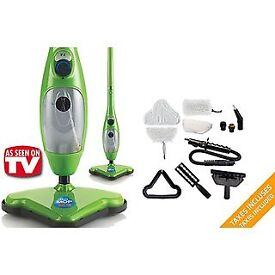 H20 Steam mop x5 accessories