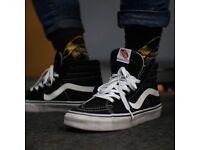Vans skate hi &i Adidas Samba's SWAP