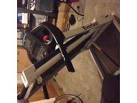 Treadmill-6 months old, hardly used, Everlast XV9