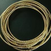 18ct Gold Bangle