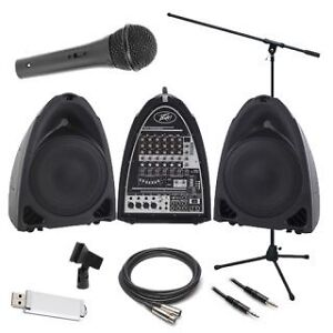 Microphone, PA system, Microphone Stands Package Deal!