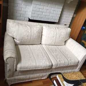 For Sale. White Sofa and loveseat.