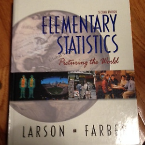 Elementary Statistics, Larson and Farber, second edition 2006