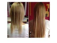 European Hair Weave Extensions/Brazilian Blowdry