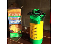 Garden Fence Pressure Spray