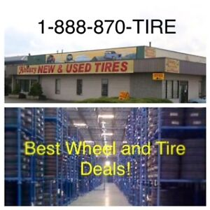 9.50R16.5 tires & wheels for 9.50/16.5