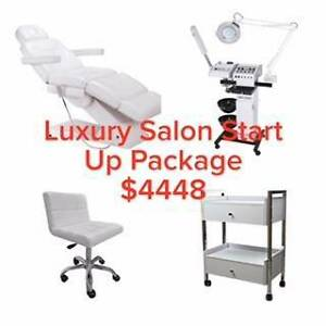 Luxury Salon Package Beauty Machine Electric Bed Stool Trolley Rocklea Brisbane South West Preview