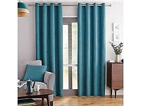 Dunelm Teal Curtains