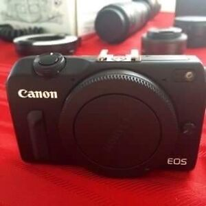 Canon EOS M2 Mirrorless camera with WiFi