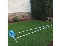 SWIMMING POOL NET & BRUSH WITH EXTENSION POLES – EXCELLENT CONDITION £10.00 EACH