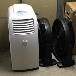 Polocool 6kw + two circular fans + 90cm tower fan (w/remote) North Sydney North Sydney Area Preview