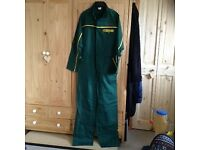 3 sets mens overalls (2 x green and 1 x blue)