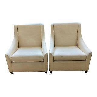 Wanted: West Elm Armchairs x2