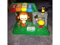 VTech - Learn & Dance Interactive Zoo with Five animal buttons