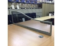 Desk Top Wave Perspex Screens