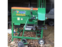 posch autosplit 250 kindling machine and logs