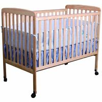 Light wood crib