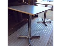 Job lot of 10 bistro tables