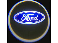 2 x FORD 3D COB LED DOOR LOGO COURTESY LIGHT LASER GHOST PROJECTOR SHADOW PUDDLE LAMPS
