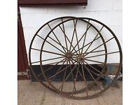 Steel Wheels antique