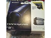 Sony Handycam Digital Camcorder used but in great condition complete in box