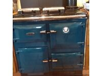 Ryburn 480K cooker and boiler for sale, working but oven requires new steel oven casing