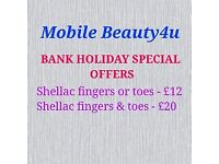 Mobile beauty4u: Bookings available today