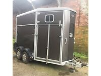 Ifor Williams HB11 Graphite Grey Horse Trailer