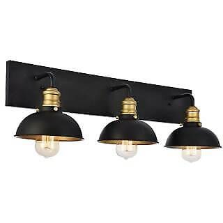 Elegant Lighting LD8004W27BK - Bathroom Fixtures Indoor Lighting